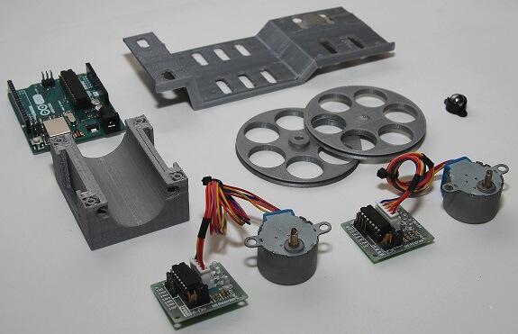 Chassi modular impresso 3D PLA