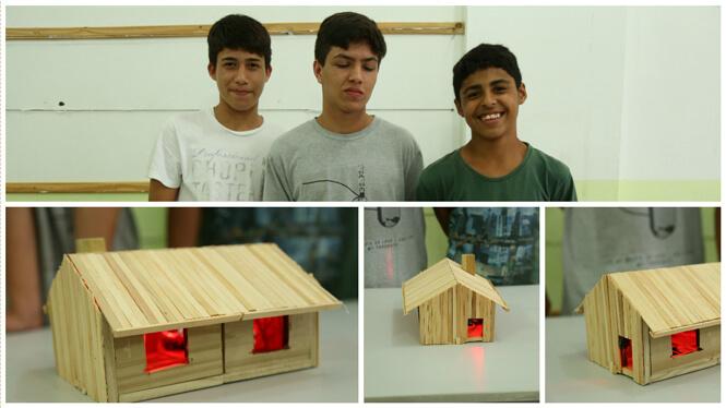 Projeto final dos estudantes do lite maker
