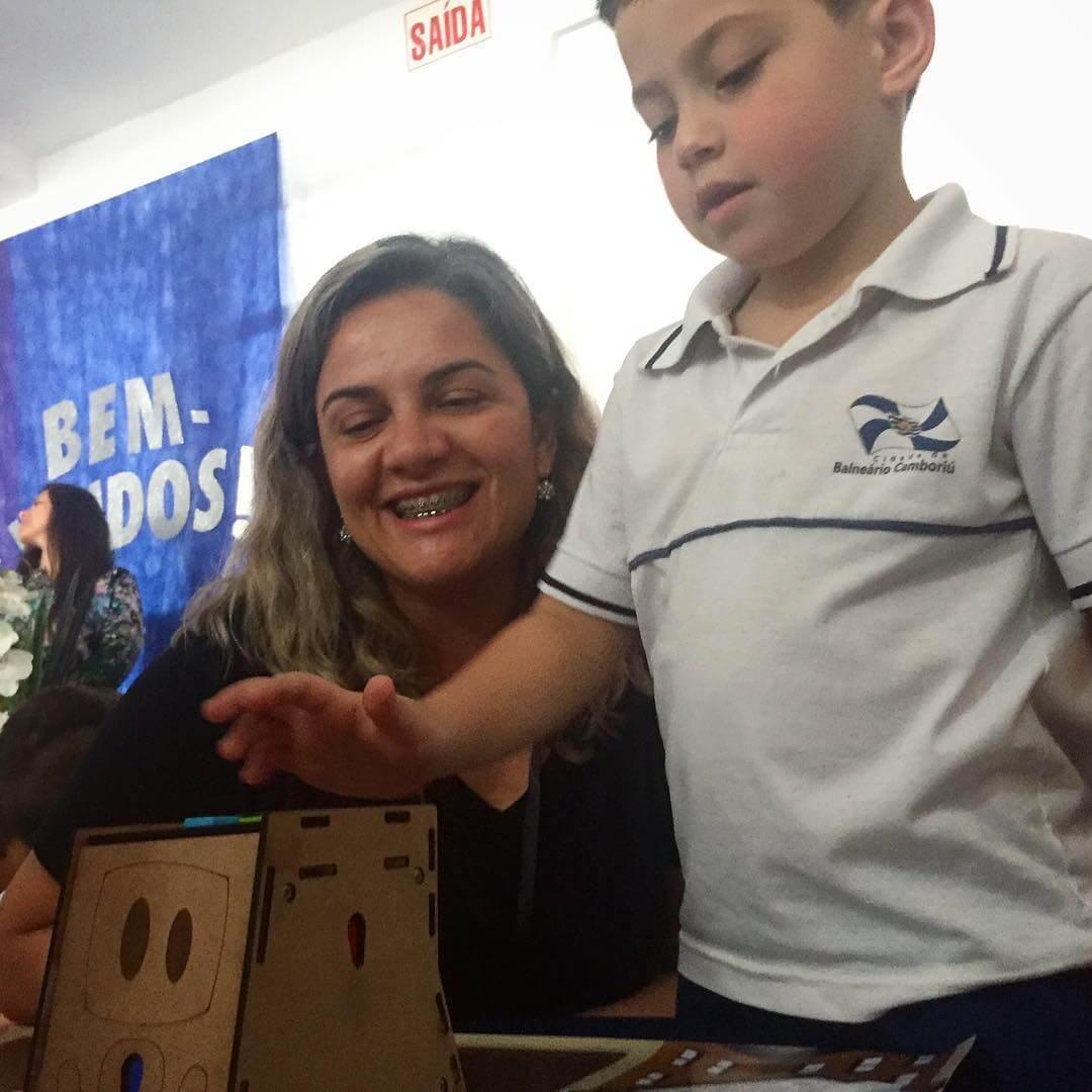 Entrega do RoPE na Creche e Pré-Escola Santa Clara, em Balneário Camborií